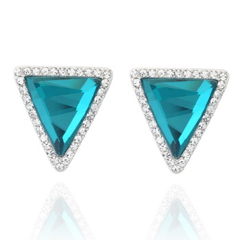 Triangle Cubic Earring