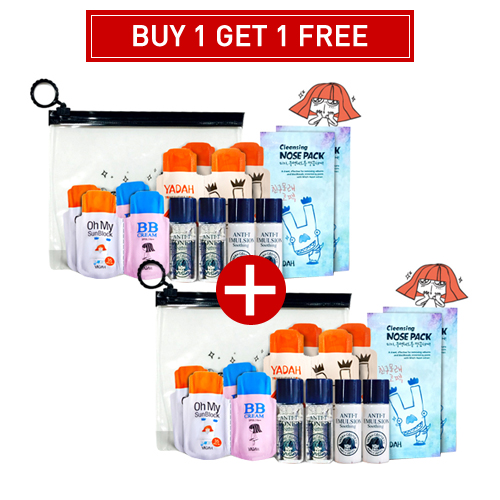 [BUY1 GET1 FREE] Yadah Cleansing Nose Pack Kit 1+1