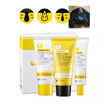 Mizon - Let Me Out Byebye Black Head 3-Setup Kit 35g+35ml+30ml