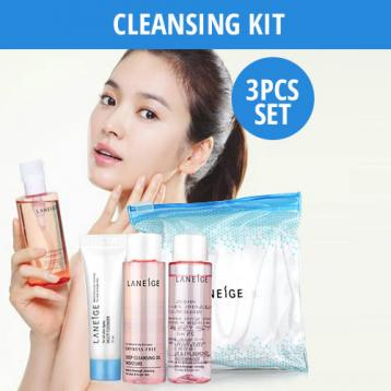 Cleansing Trial Kit 3pcs [25ml*25ml*10ml]