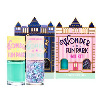Wonder Fun Park Nail Kit 8 ml x 2 / sticker