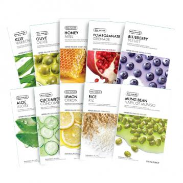 New Real Nature Mask Sheet